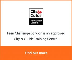 Teen Challenge London is now an approved City & Guilds Training Centre. Click here to find out more.